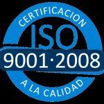 certificado iso a la calidad 9001-2008