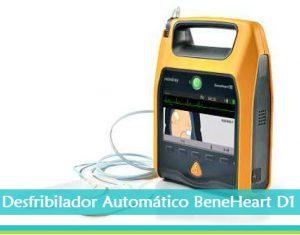 desfribilador automativo BeneHeart D1